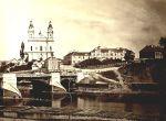 Zielony most oraz kościół św. Rafala - XIX w.