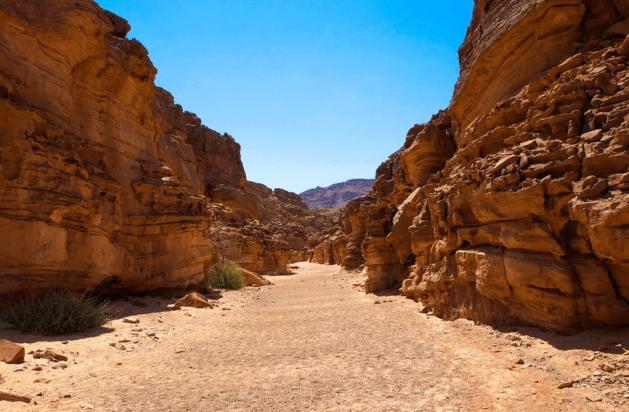 Нувейба - северо-восток Синайского полуострова