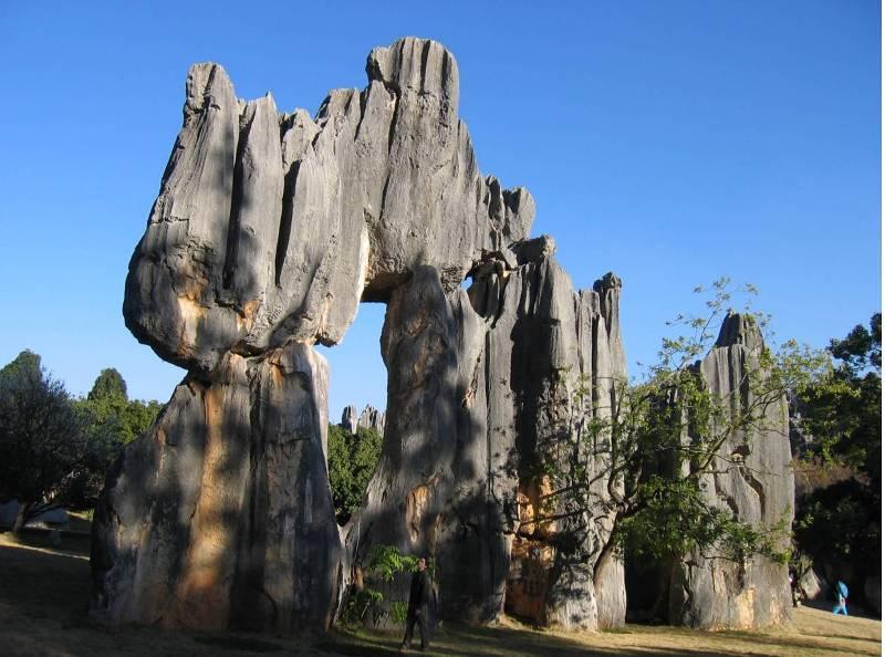 Каменные истуканы большого леса.