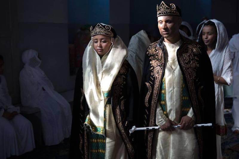 Свадьба традиции Эритрея