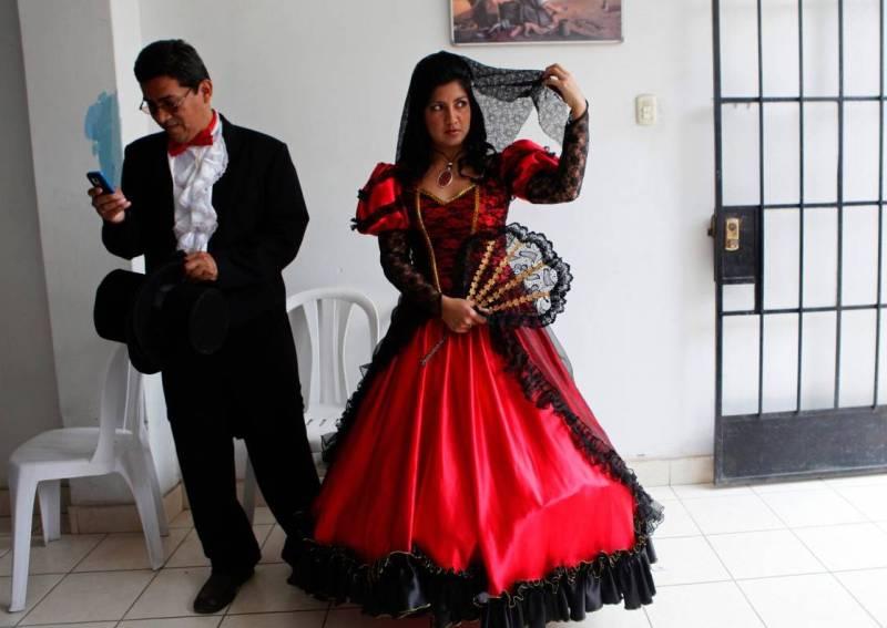 Перуанская свадьба
