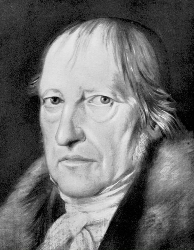 Гегель философ фото