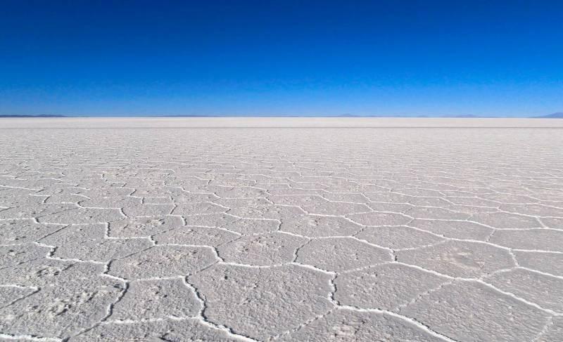 Солевая пустыня Боливия