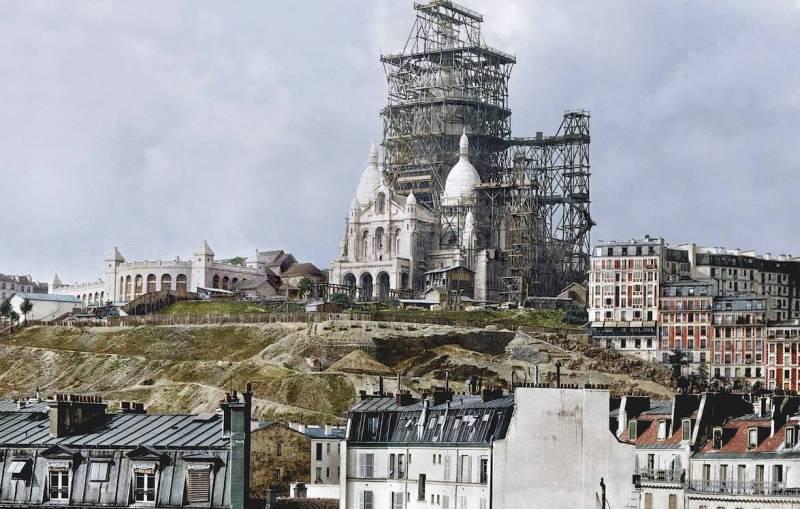 Базилика Сакре-Кёр строительство