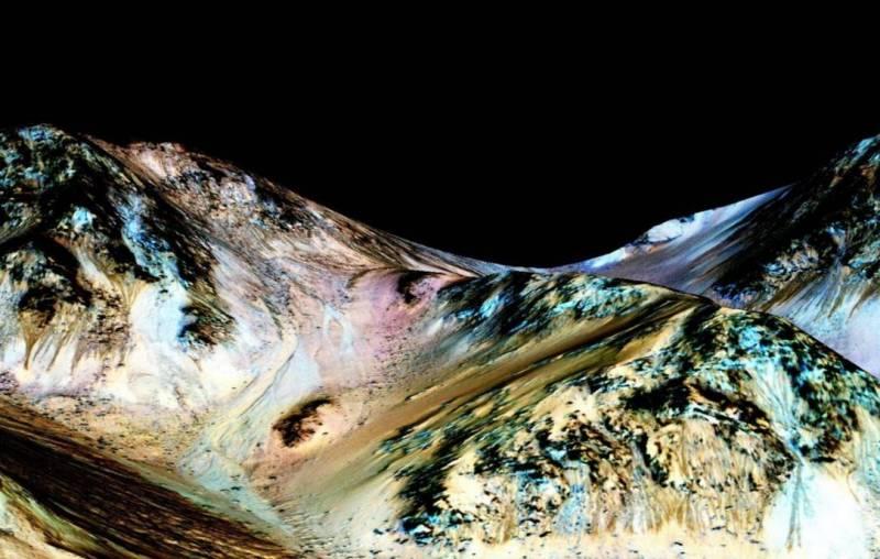 Марс вода