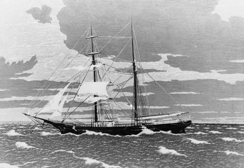 Корабль призрак Мария Целеста