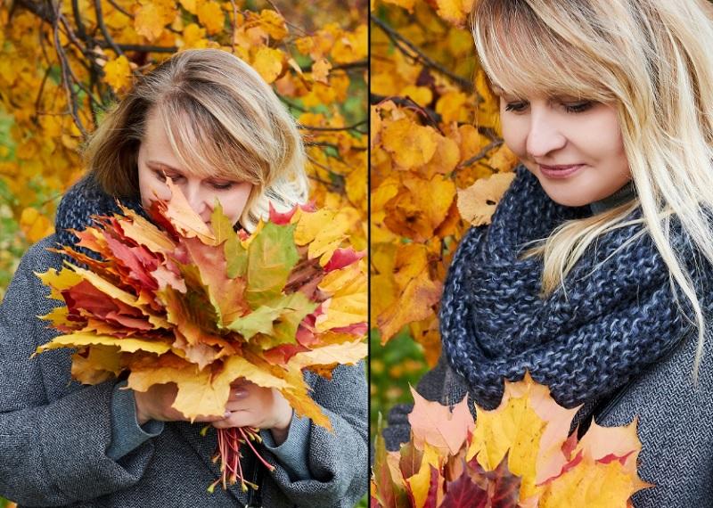 идеи для фото осенью, осенняя фотосессия идеи, фото с листьями