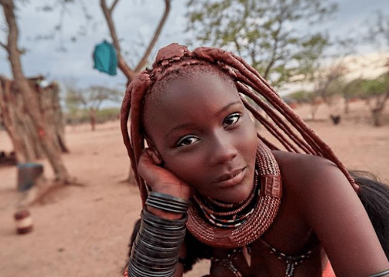 племя Химба, африканские племена, Намибия