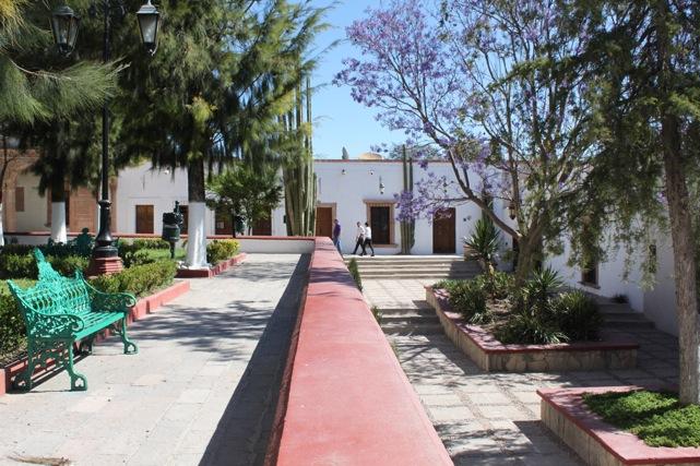 Jardin in mineral de pozos
