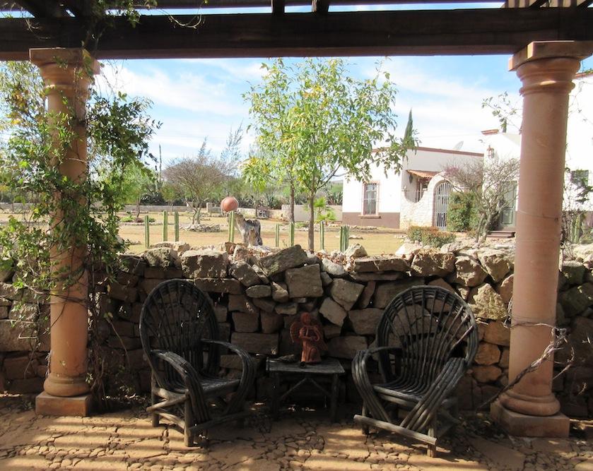 mineral de pozos house for rent