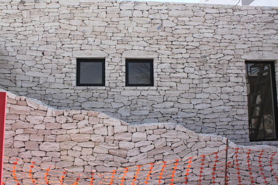 caliche stone home