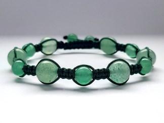 Bransoletka damska zielona