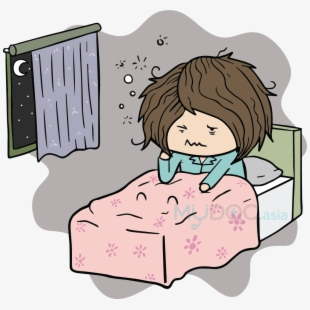 Can't Have A Good Night's Rest And Can't Figure Out - Cartoon . Transparent Cartoon. Free Cliparts & Silhouettes - NetClipart