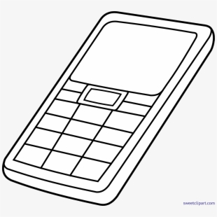 Unique Cell Phone Clipart Png, Png Collections At Sccpre