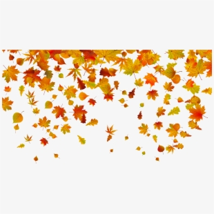 beautiful falling leaves clipart