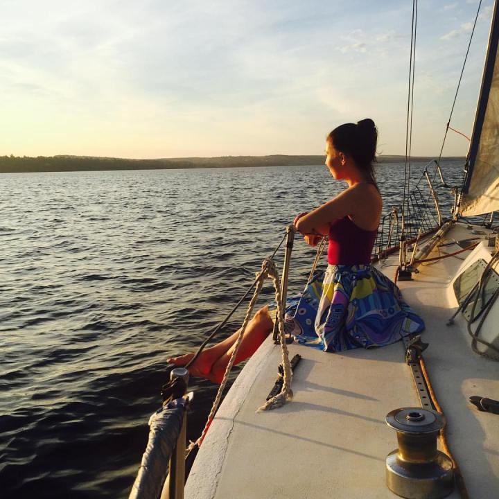фотосессия на яхте Конрад25Р Risk