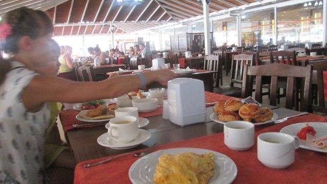 Завтрак в отеле Эфталия Резорт, Турция