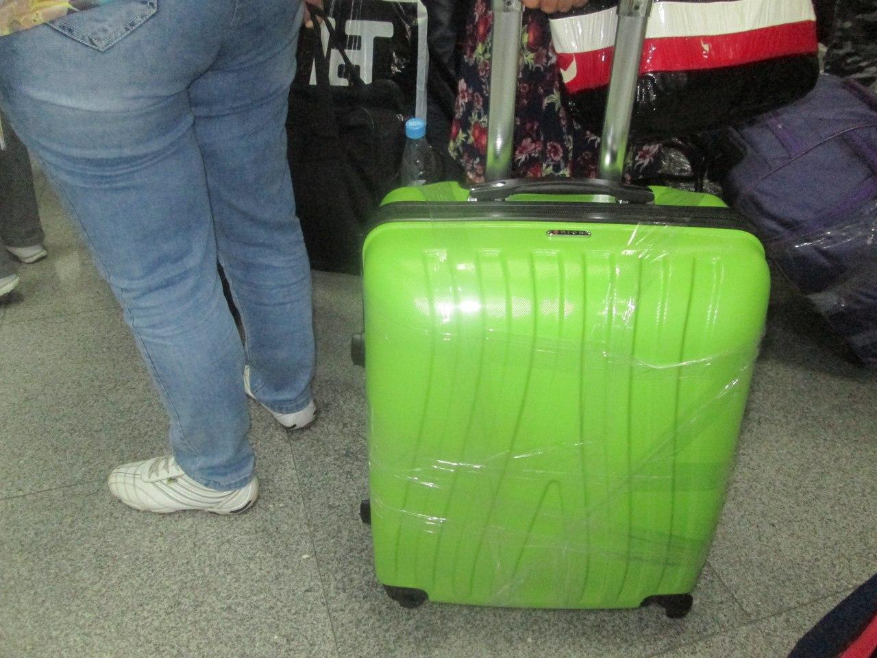 Сколько кг можно положить в чемодан