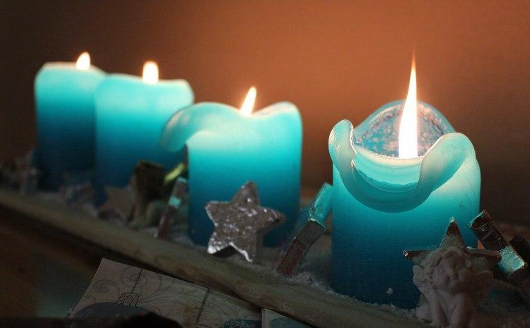 Бирюзовые свечи в магии
