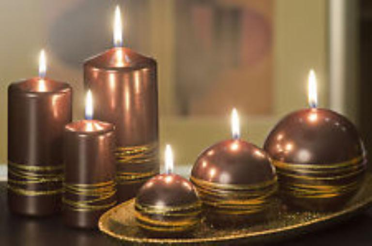 Коричневые свечи в магии