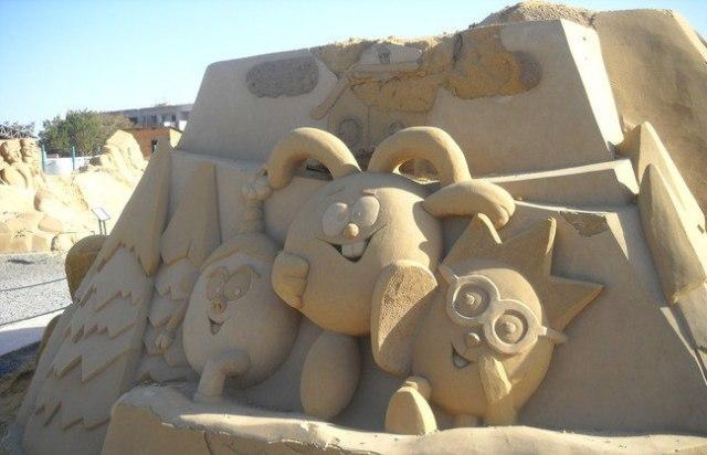 Песочный город Хургада