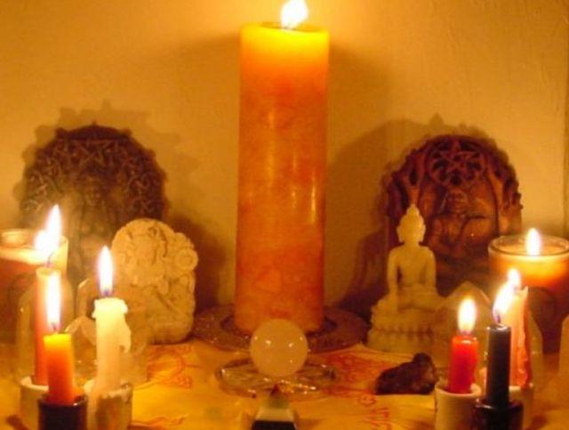 Оранжевые свечи в магии