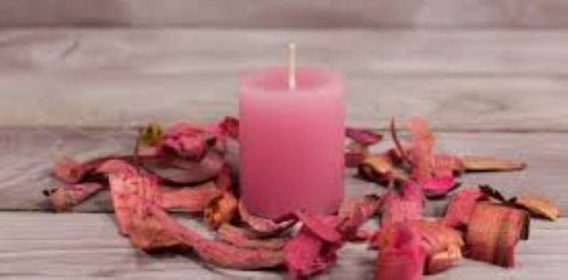 Розовые свечи в магии