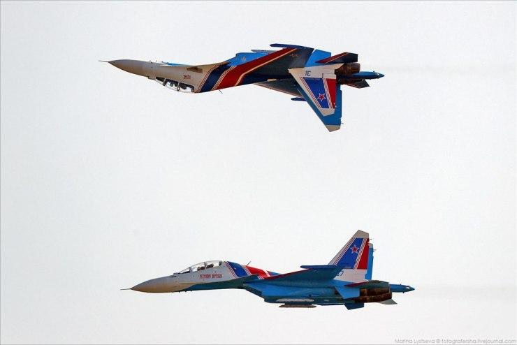 """lesLI1ISGTA Авиашоу в честь дня ВВС в парке """"Патриот"""""""