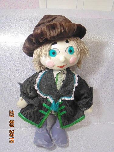 Текстильная кукла Князь Василий.