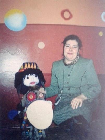 Кукла текстильная Нойд для межрегионального конкурса.