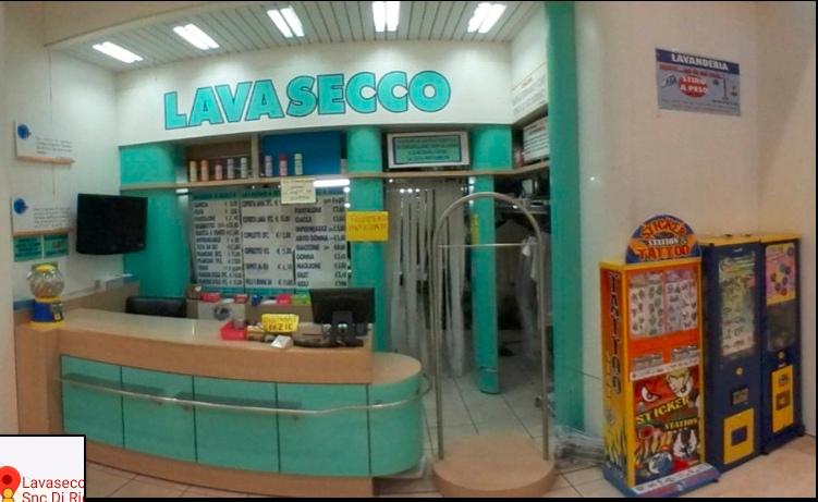 итальянская химчистка в торговом центре