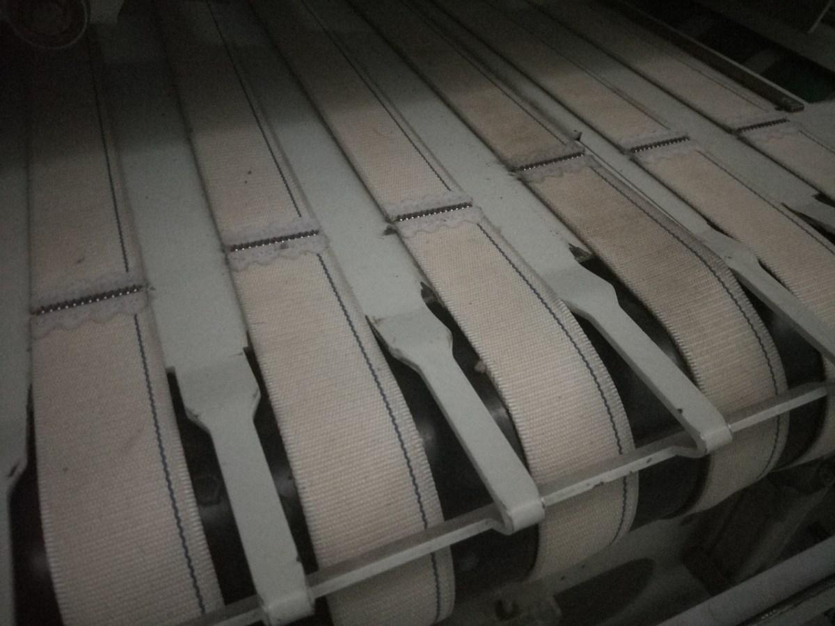 состояние покрытия приводных валов гладильной линии