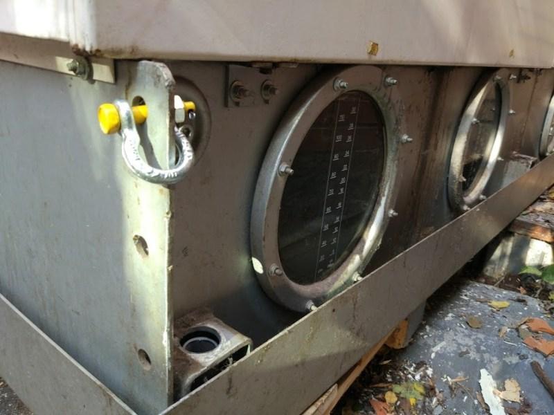 демонтаж машины химчистки подготовка к погрузке
