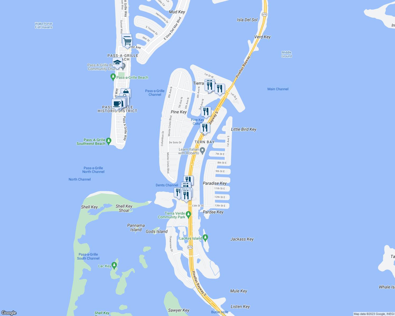 St Petersburg Fl Trolley Map