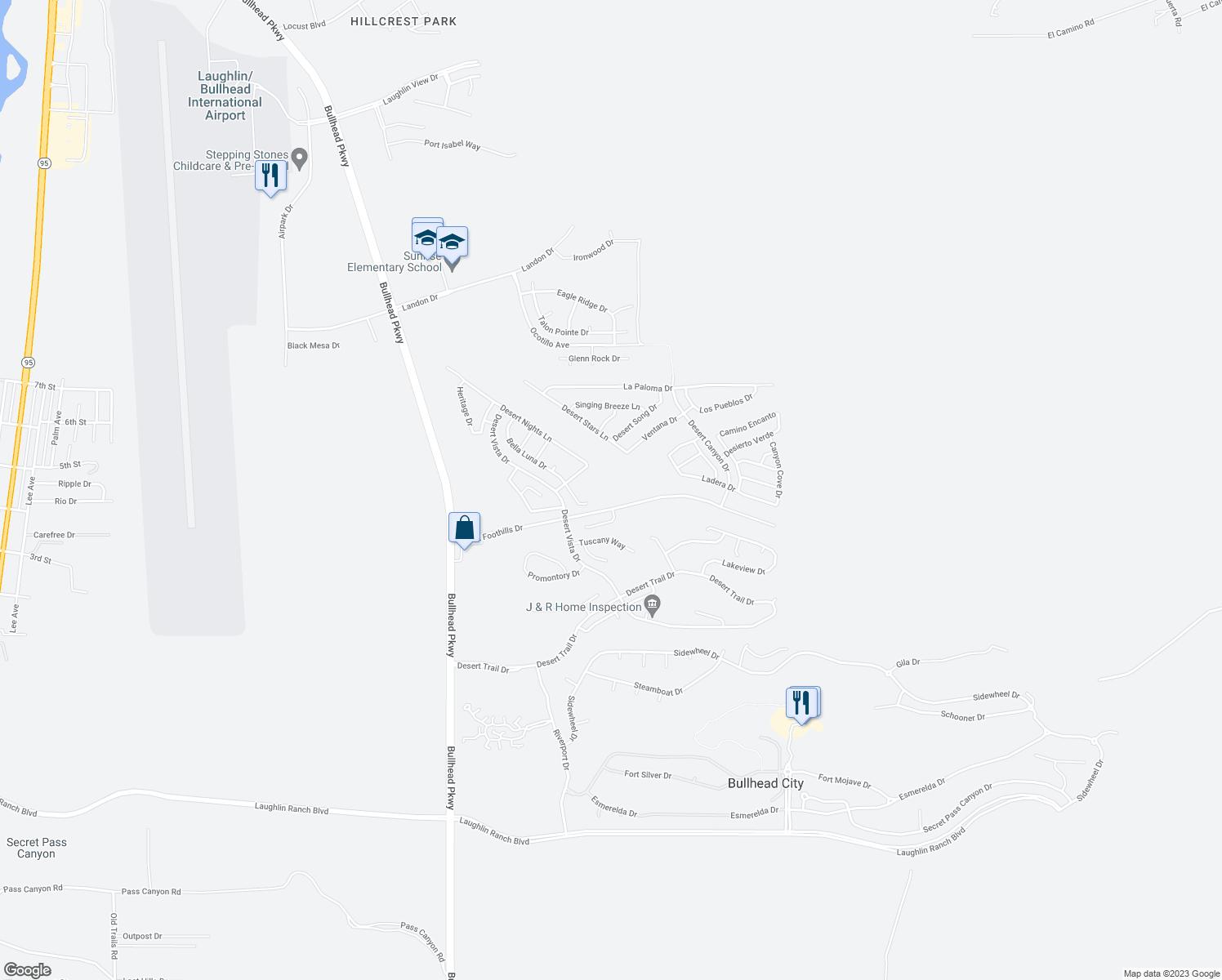 Desert Foothills Drive Bullhead City Az