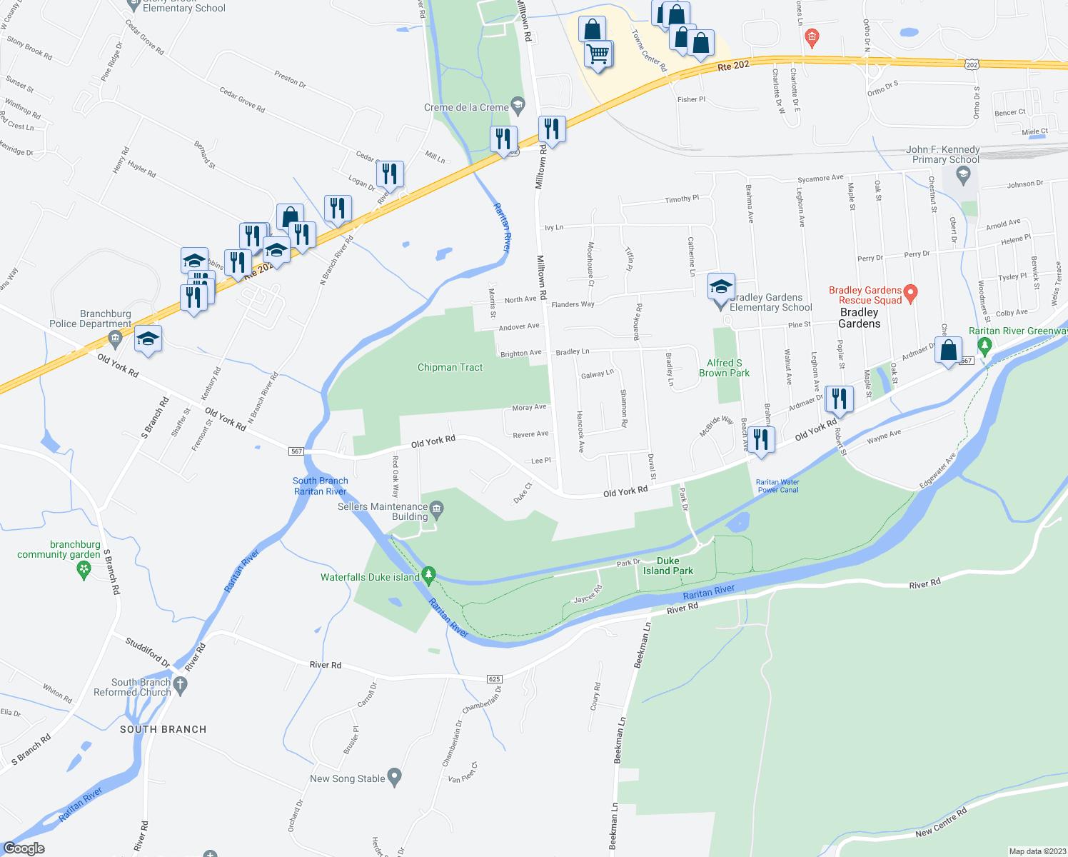 Restaurants Near Me 08807