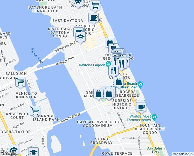 Daytona Florida Map.Near Daytona Florida Map