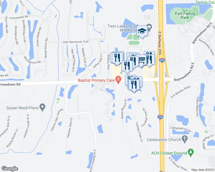 Restaurants Near Me 32256