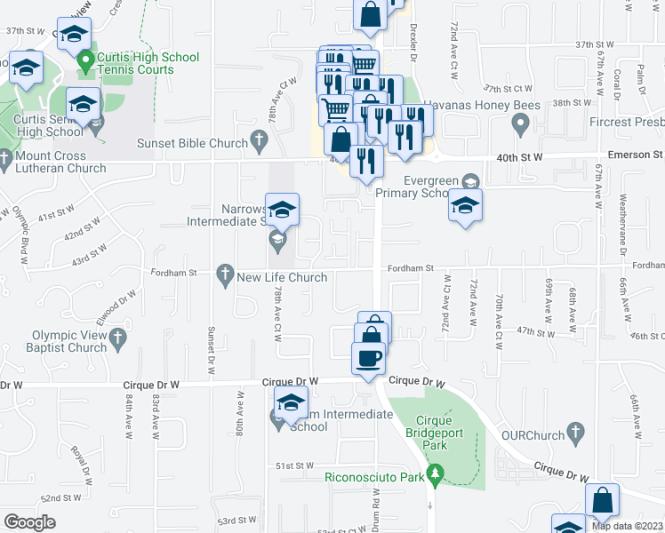 Boulder Park Apartments 7523 44th St W University Place Wa