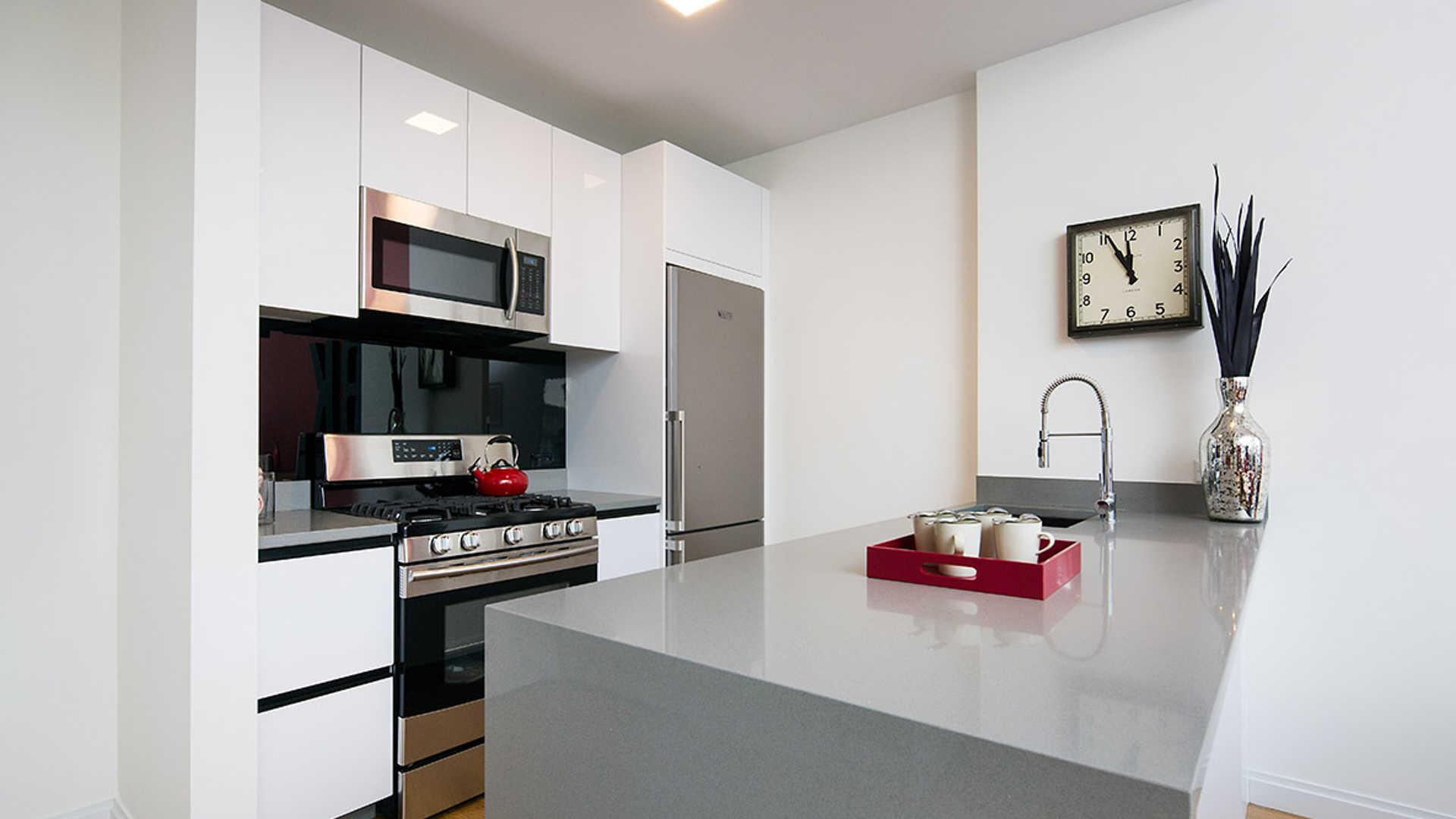 kitchen appliances brooklyn modular outdoor frames atelier apartments new york ny walk score