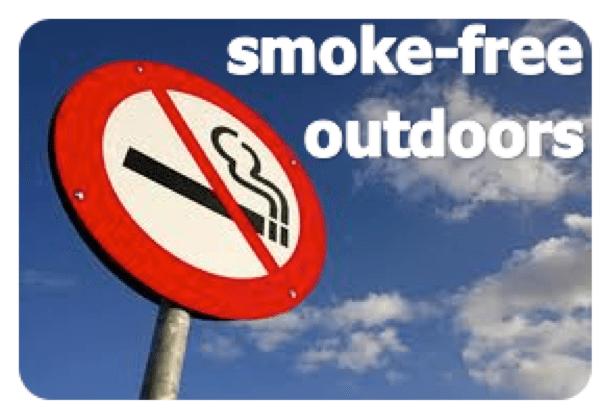 smoke free outdoors