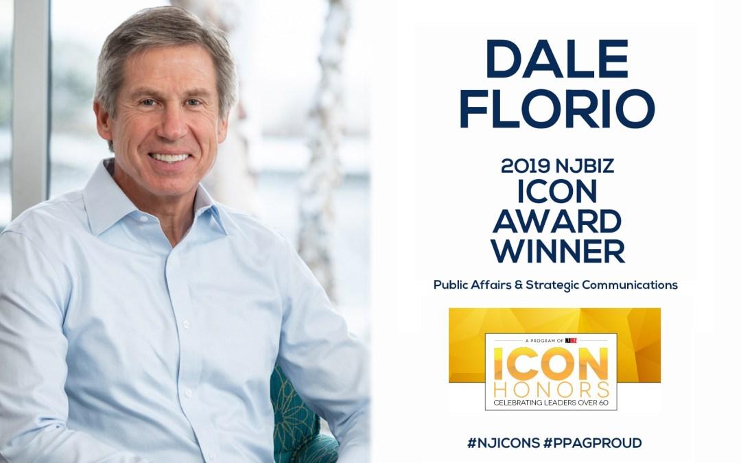 PPAG'S Dale Florio Wins 2019 NJBIZ ICON Award