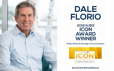 PPAG'S Dale Florio Wins 2019 NJBIZ ICON Award