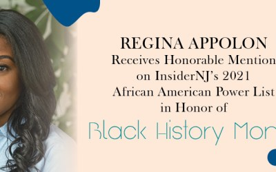 PPAG's Regina Appolon Receives Honorable Mention on InsiderNJ's 2021 African American Power List in Honor of Black History Month