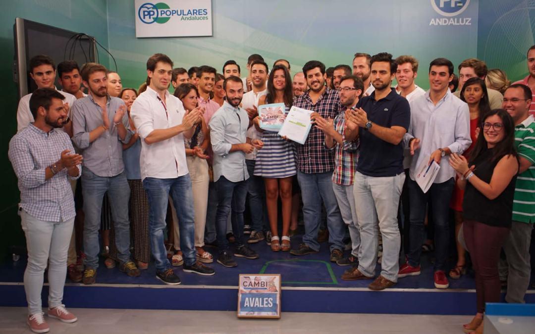 El COC proclama como único candidato a la presidencia de NNGG de Andalucía a Enrique Rodríguez Flores