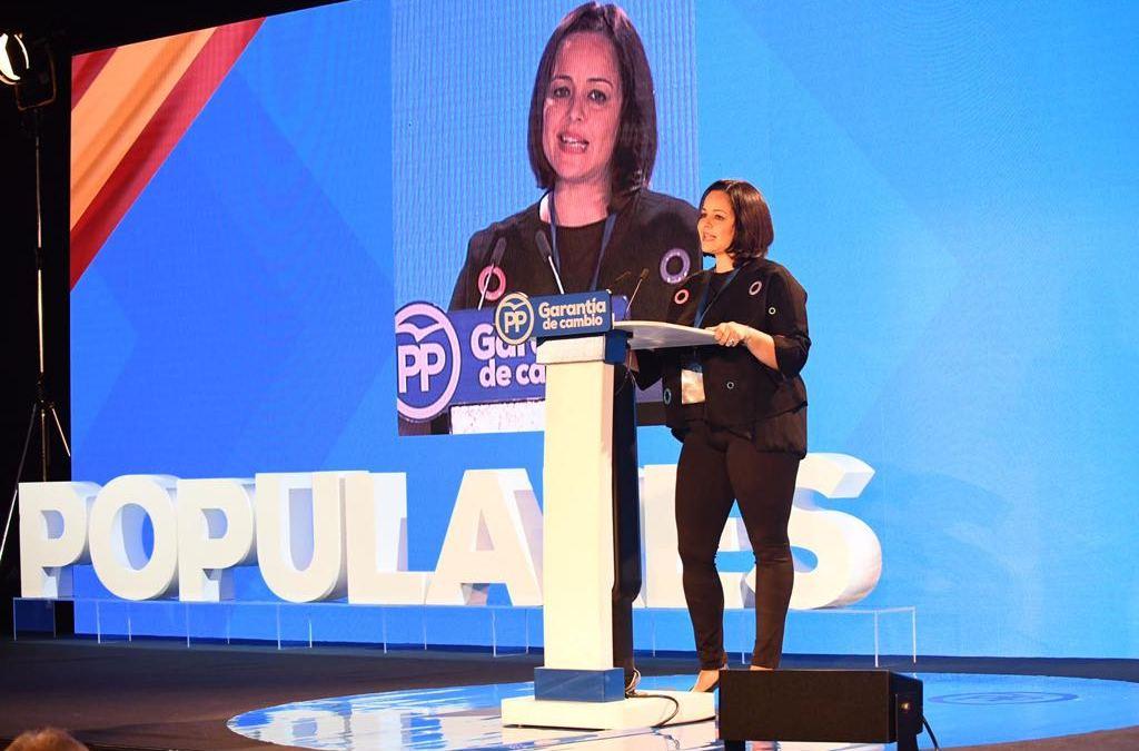 """Virginia Pérez: """"Somos el Partido que está cerca de las personas, el partido que está en la calle"""""""