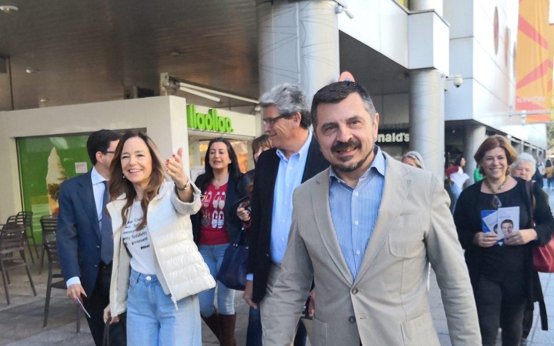 """Martín: """"Es vergonzoso que el PSOE firme decretos con Bildu y ponga en duda la bajada de impuestos en Andalucía"""""""