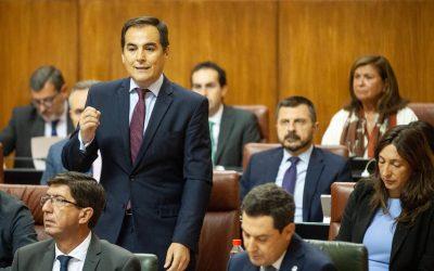 """Nieto: """"No vamos aceptar que el Gobierno del PSOE tome a Andalucía como rehén para salvar al 'soldado' Sánchez"""""""