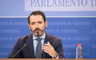 """Carmona: """"El PSOE ejecutó 71 millones menos del canon del agua de lo que dijo en la Junta, un engaño vergonzoso"""""""