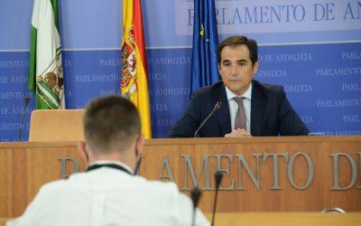 """Nieto asegura que """"va a ser muy difícil decir que no a los presupuestos andaluces"""" y pide """"altura de miras"""" a los partidos"""